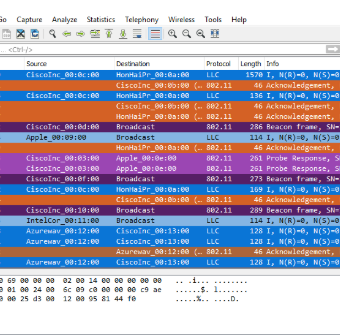 Wireshark Display Filters